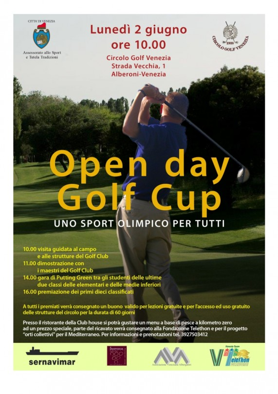 Locandina Open Day Golf Cup